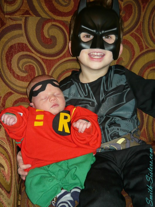 2012 Halloween Batman and Robin