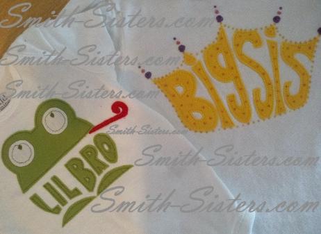 PrincessFrog_sibling-tshirts-closeup