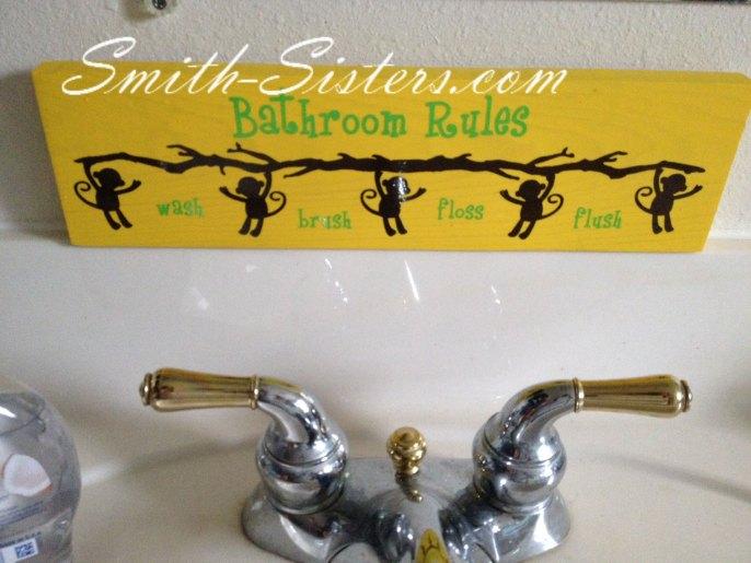Bathroom-Rules-Monkey-Sign